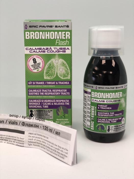 BRONHOMER  125 ml (bronsite, traheite, tuse, voce ragusita )   -  ERIC FAVRE 0