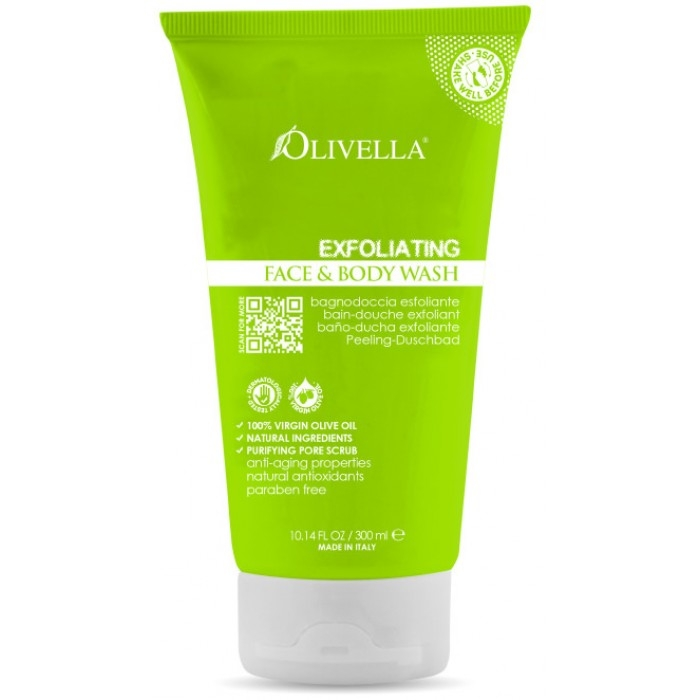Body wash exfoliant 300 ml - OLIVELLA 0