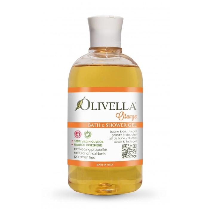 Gel de duș & baie portocale 500 ml - OLIVELLA [0]