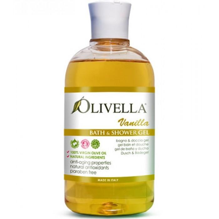 Gel de duș & baie vanilie 500 ml - OLIVELLA [0]