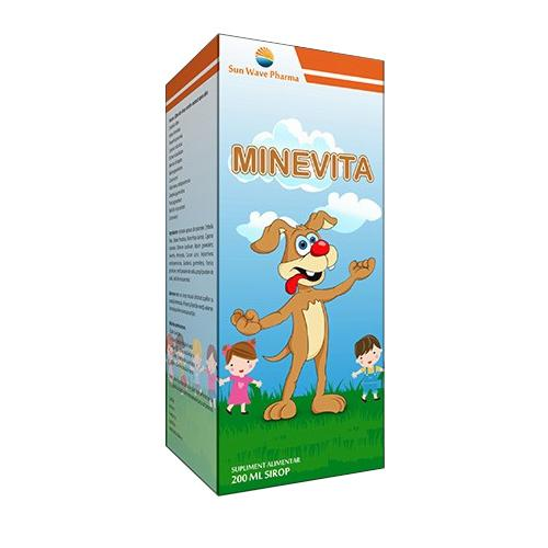 Minevita Sirop 200 ml Sun Wave 0