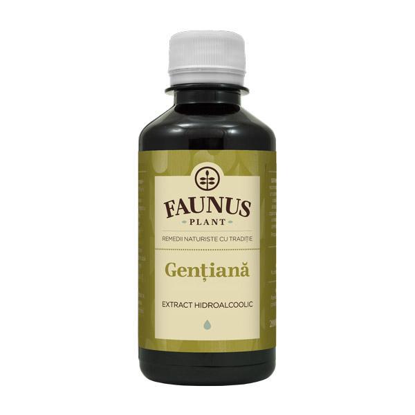 Tinctura Gentiana 200 ml Faunus Plant [0]