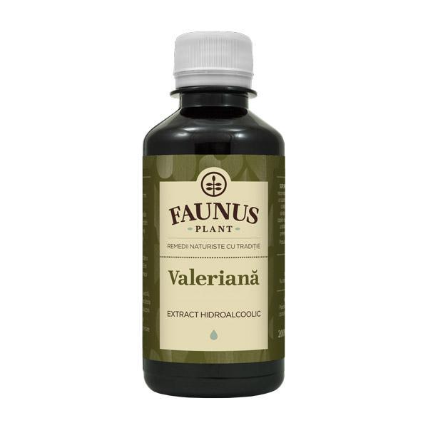 Tinctura Valeriana 200 ml Faunus Plant 0
