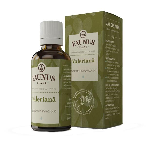 Tinctura Valeriana 50 ml Faunus Plant [0]