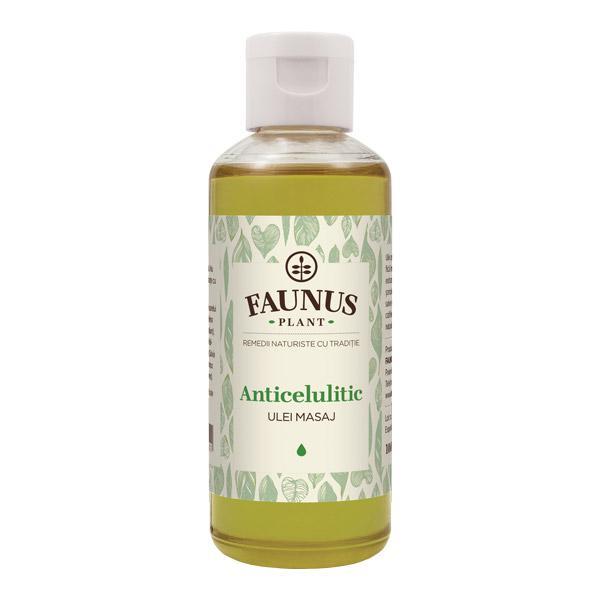Ulei Masaj Anticelulitic 100 ml Faunus Plant 0