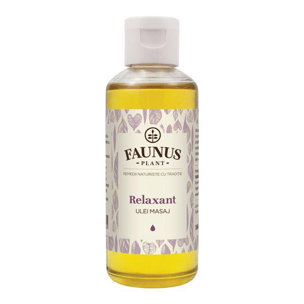 Ulei Masaj Relaxant 100 ml Faunus Plant 0