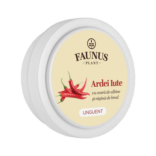 Unguent Ardei Iute 20 ml Faunus Plant 0