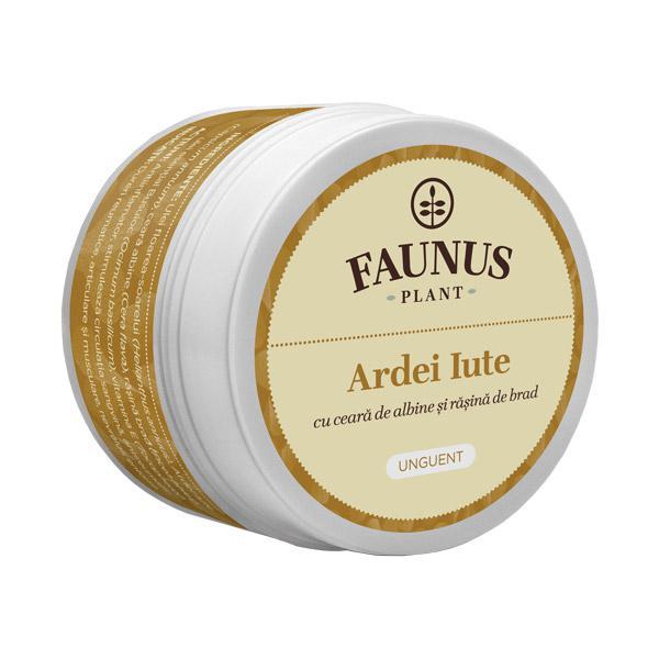 Unguent Ardei Iute 50 ml Faunus Plant [0]