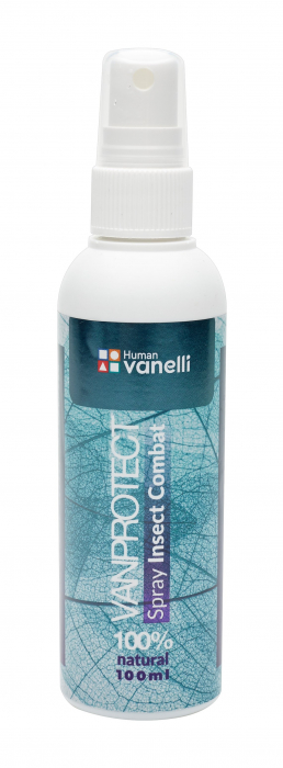 Vanprotect Spray Insect Combat 100 ml Vanelli Human 0