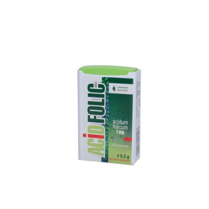 Acid Folic 1 Mg 100 tablete Remedia [0]