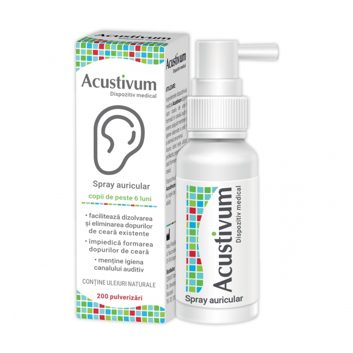 Spray Auricular Acustivum x200 ml Zdrovit 0
