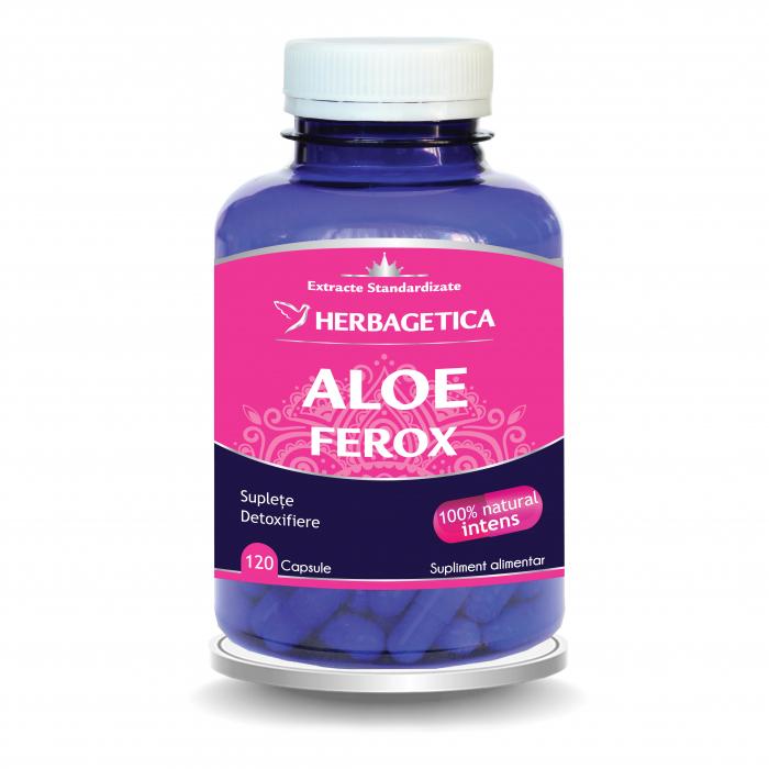 Aloe Ferox 120 cps Herbagetica [3]