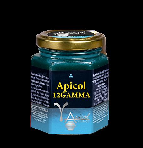 Apicol 12 Gamma - Miere Albastra 235 g - ApicolScience - DVR PHARM SRL [0]