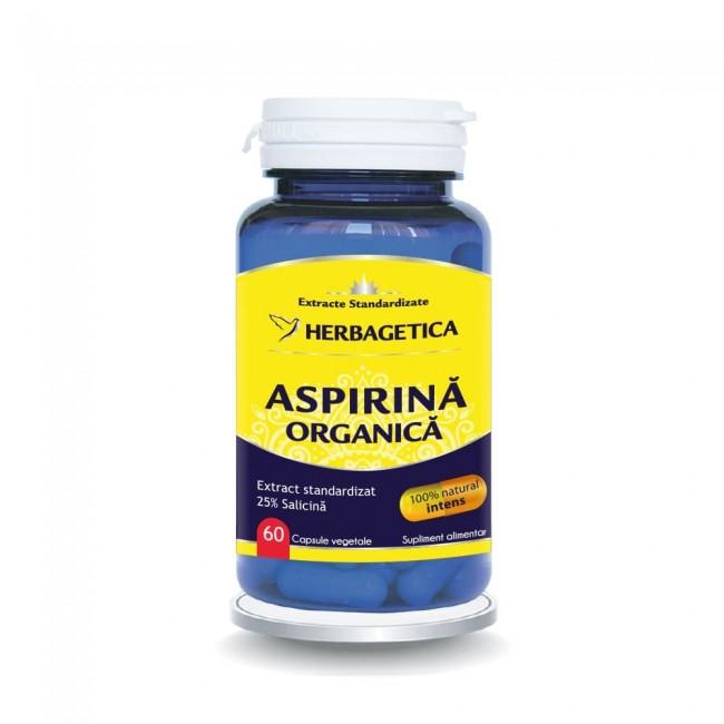 Aspirina Organica 60 cps Herbagetica [0]