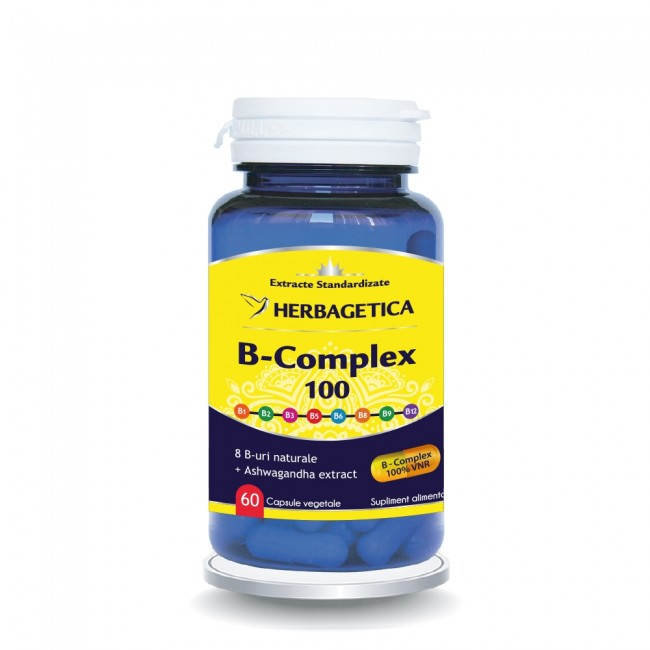 B Complex 100 30 cps Herbagetica 0
