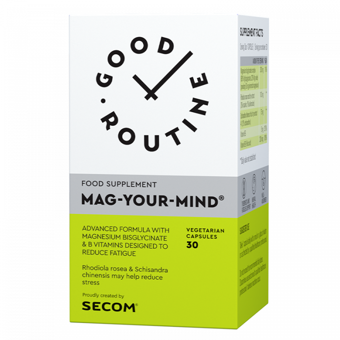 Mag Your Mind 30 cps Good Routine Secom 0