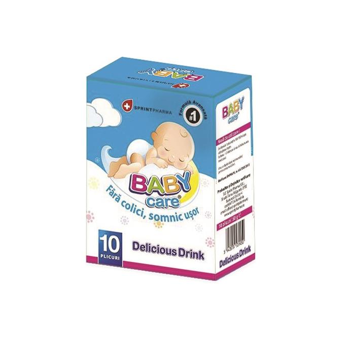 Baby Care Drink plicuri anti-colici x 10 pl Sprint Pharma 0