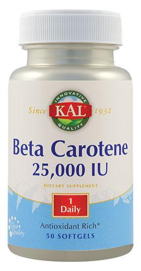 Beta Carotene 25000 Ui x50 cps Secom 0
