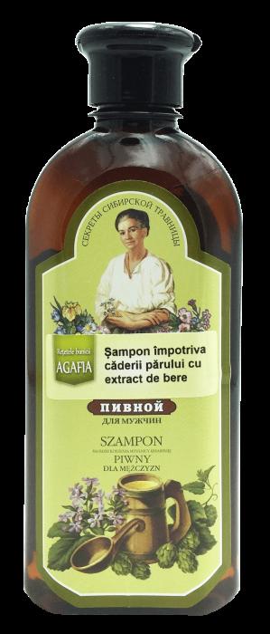 Bunica Agafia - Sampon Impotriva Caderii Parului cu Extract de Bere x 350 ml 0