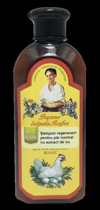Bunica Agafia - Sampon Regenerant pentru Par Normal cu Extract de Ou x 350 ml [0]