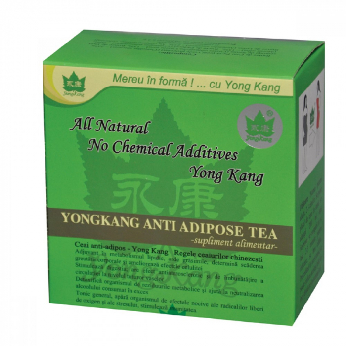 Ceai Antiadipos x30 plicuri Yong Kang 0