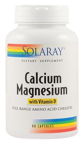 Calciu Magneziu cu Vitamina D x90 cps Secom 0