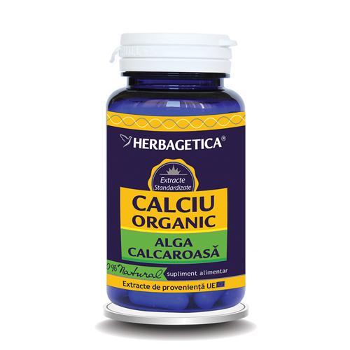 Calciu Organic 30 cps Herbagetica 0