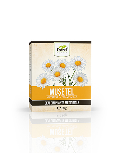 Ceai Musetel 50 g Dorel Plant 1
