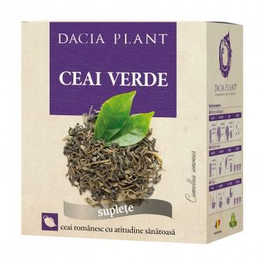Ceai verde x50g Dacia Plant 0