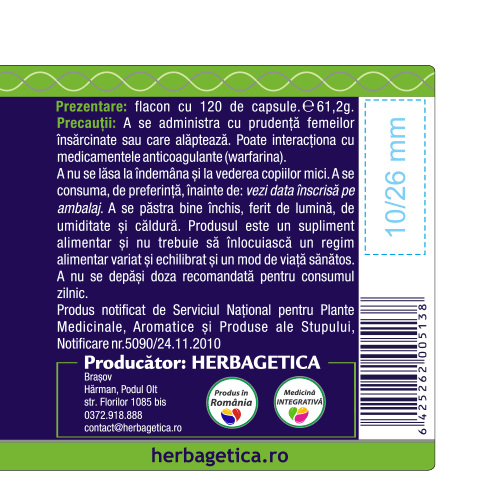 Chlorella 120 cps Herbagetica [2]