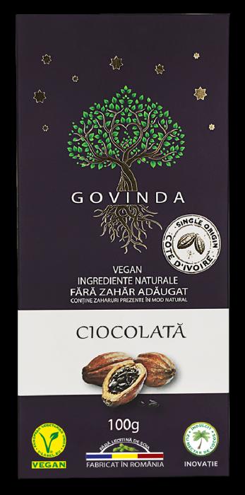 Ciocolata Vegana Traditionala x 100 g HiperAmbrozia 0
