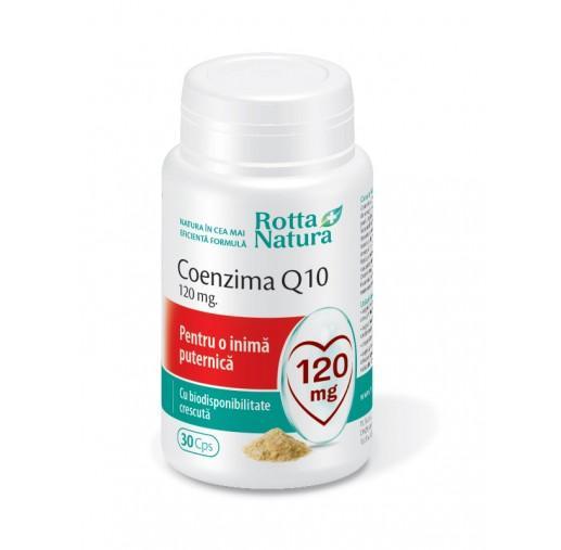 Coenzima Q10 120 Mg 30 cps Rotta Natura [0]