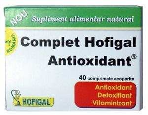 Complet Antioxidant 40 cpr Hofigal 0