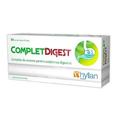 Complet Digestiv x 30 cpr - Hyllan Pharma [0]