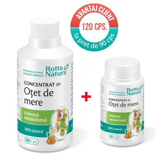 Concentrat Otet Mere 90+30 cps Rotta Natura [0]