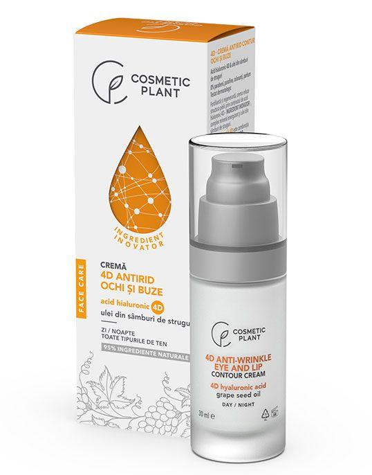 Crema Antirid Contur de Ochi si buze 30 ml - Face Care 4D - Cosmetic Plant [0]