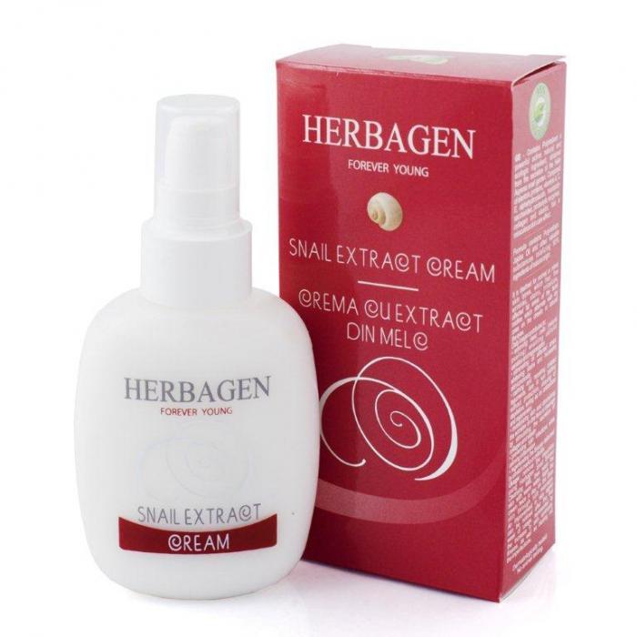Crema Cu Extract Din Melc 100 g Herbagen 0
