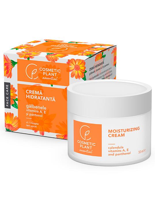 Crema Hidratanta cu Galbenele si Pantenol 50 ml - Essential - Cosmetic Plant [0]