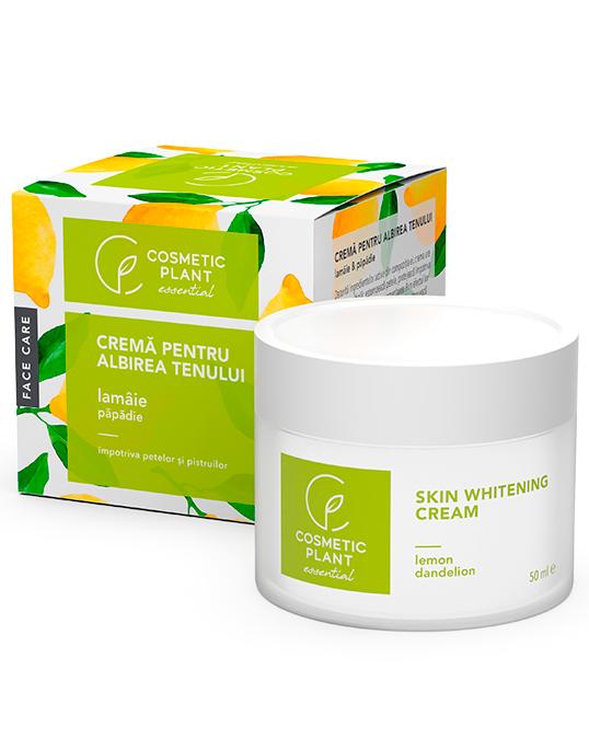 Crema pentru Albirea Tenului cu Extract de Lamaie si Papadie 50 ml - Essential - Cosmetic Plant [0]