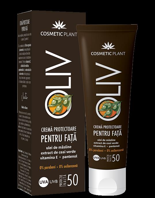 Crema Protectoare pt Fata SPF 50 50 ml Cosmetic Plant [0]