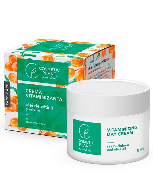 Crema Vitaminizanta de Zi cu Ulei de Catina si Masline 50 ml - Essential - Cosmetic Plant [0]