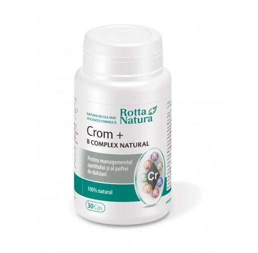 Crom + B-Complex Natural 30 cps Rotta Natura [0]
