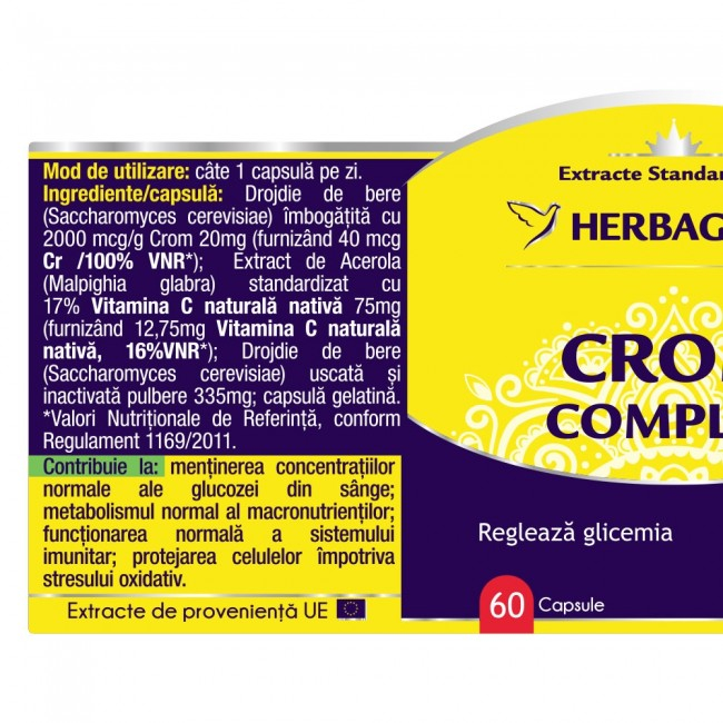 Crom Complex 120 cps Herbagetica [1]
