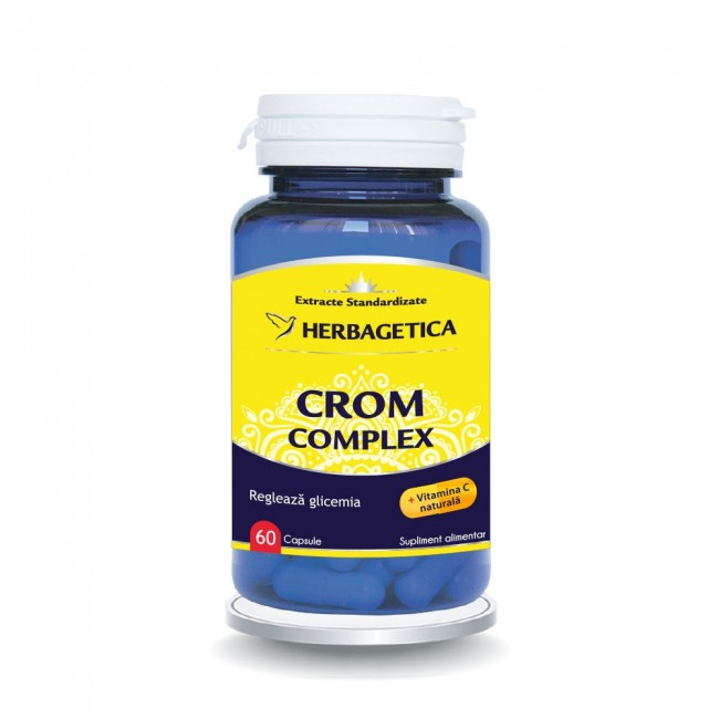 Crom Complex 60 cps Herbagetica [0]