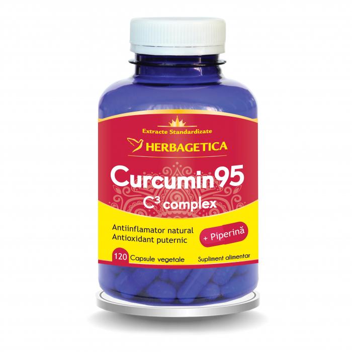 Curcumin + 95 C3 Complex 120 cps Herbagetica [0]