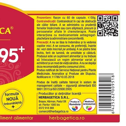 Curcumin + 95 C3 Complex 120 cps Herbagetica 2