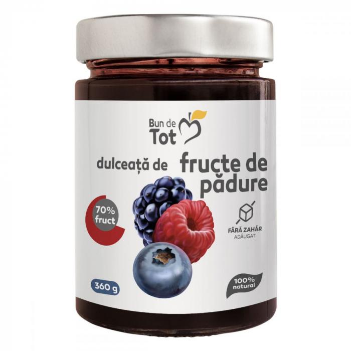 Bun de Tot Dulceata de Fructe de Padure (zmeura, afine, mure) 360 gr Dacia Plant 0