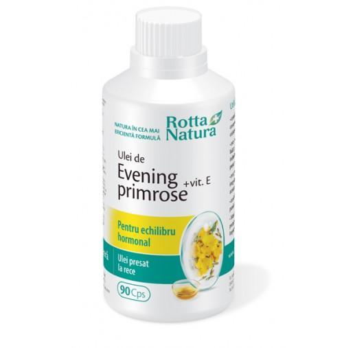 Evening Primrose + Vitamina E 90 cps Rotta Natura 0
