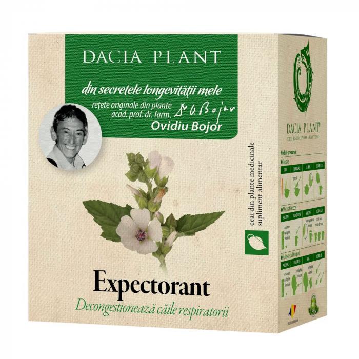 Expectorant Ceai 50 g Dacia Plant 0