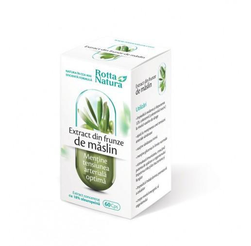 Extract Din Frunze De Maslin 60 cps Rotta Natura 0